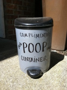 Poop container