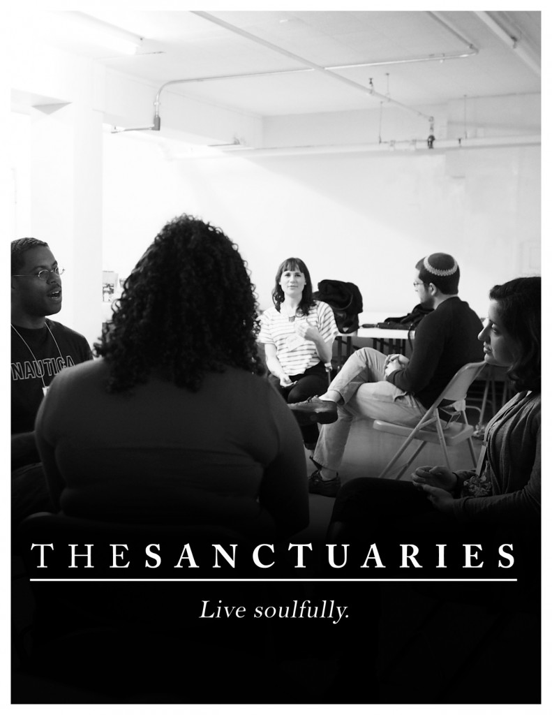 Sanctuaries Brochure 2013 cover