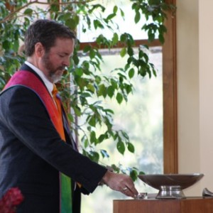 Rev. Peter Friedrichs of the UU Church of Delaware County (Media, PA)