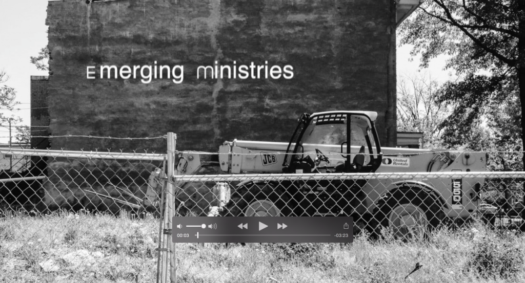 Emerging Ministries final