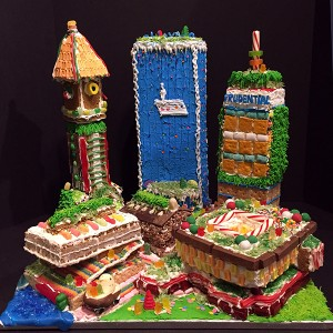 Boston Towers Gingerbread