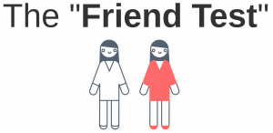 friend test