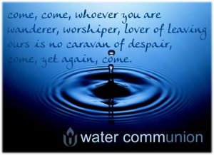 water-communion